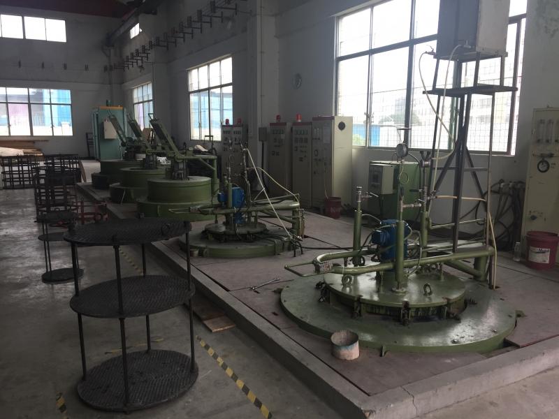 H13模具钢井式氮化炉